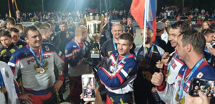 Сборная России по мотоболу 4-й год подряд стала чемпионом Европы. Фото фото 6