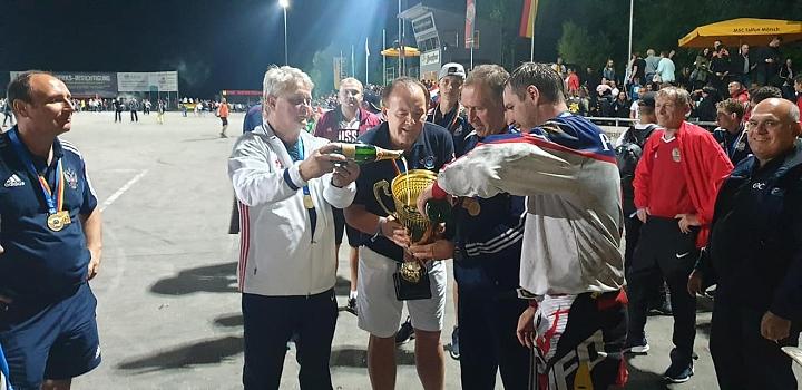 Сборная России по мотоболу 4-й год подряд стала чемпионом Европы. Фото фото 8