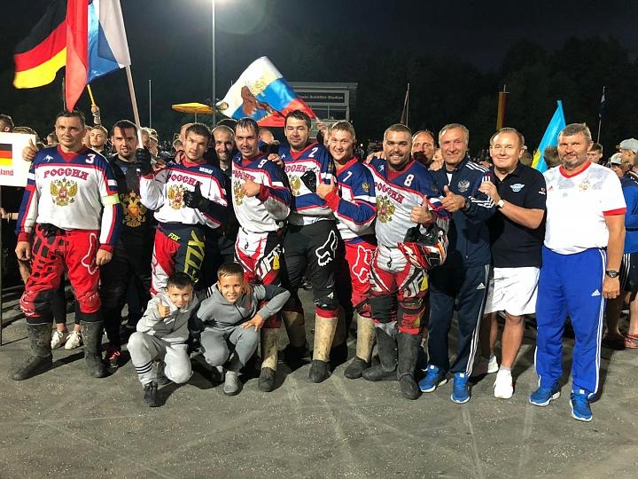 Сборная России по мотоболу 4-й год подряд стала чемпионом Европы. Фото фото 10