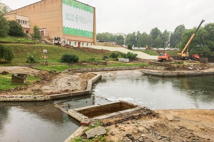 Началась масштабная реконструкция территории вокруг кинотеатра «Искра». Подробно о том, что там будет фото 2
