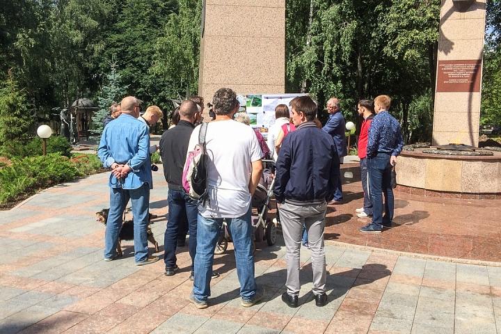 Новые картинки и подробности благоустройства центра города Видное. Видеозапись встречи с жителями