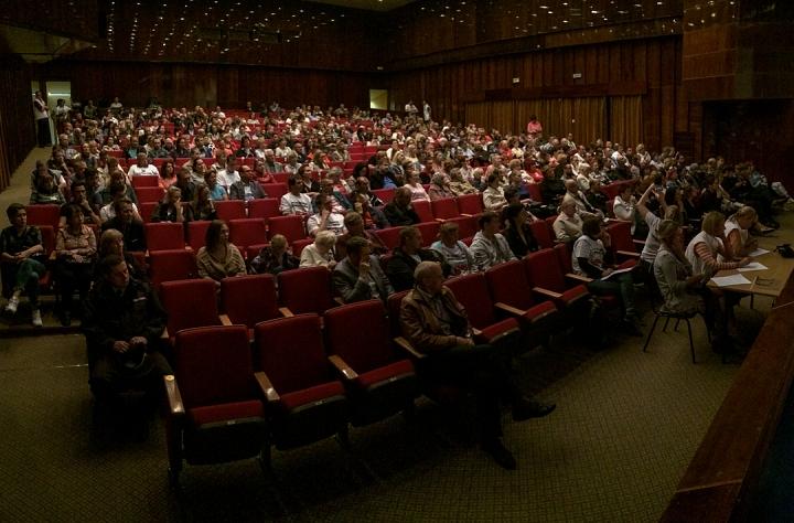 В Совхозе имени Ленина прошли самые цивилизованные публичные слушания по вопросу объединения в округ. Видеозапись фото 6