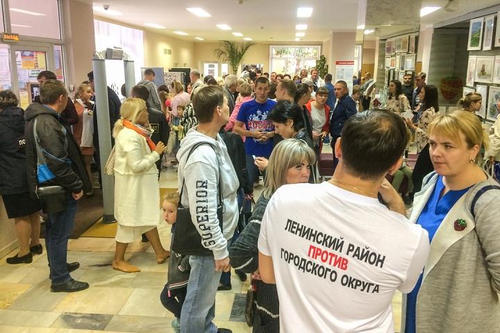 В Совхозе имени Ленина прошли самые цивилизованные публичные слушания по вопросу объединения в округ. Видеозапись фото 3