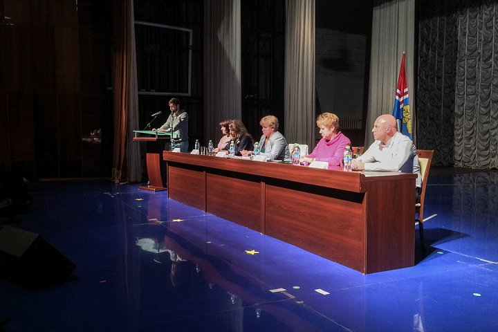 В Совхозе имени Ленина прошли самые цивилизованные публичные слушания по вопросу объединения в округ. Видеозапись фото 7