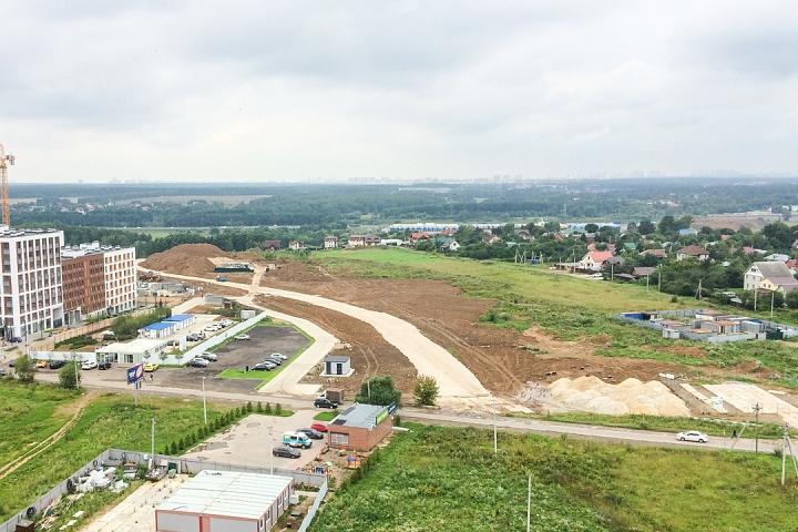 О строительстве дороги - выезда из новых микрорайонов на трассу М-4 «Дон». Июль 2019. Фоторепортаж фото 2