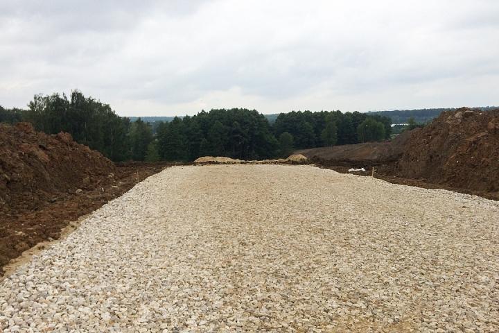 О строительстве дороги - выезда из новых микрорайонов на трассу М-4 «Дон». Июль 2019. Фоторепортаж фото 5