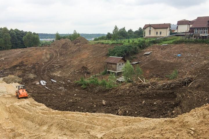 О строительстве дороги - выезда из новых микрорайонов на трассу М-4 «Дон». Июль 2019. Фоторепортаж фото 13