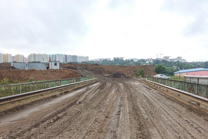 О строительстве дороги - выезда из новых микрорайонов на трассу М-4 «Дон». Июль 2019. Фоторепортаж фото 8