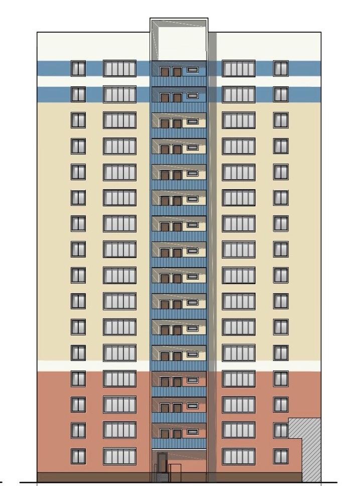 Продолжается реконструкция территории у к/т «Искра», начинается реконструкция фасадов 20-ти ближайших домов. Фоторепортаж фото 2