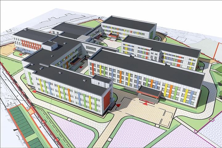 К Видновской гимназии пристроят новые корпуса стоимостью полмиллиарда рублей фото 2