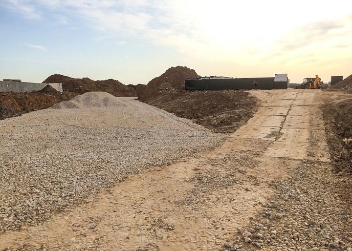 О строительстве дороги-выезда из новых микрорайонов на трассу М-4 «Дон». Август 2019. Фото и видео фото 4