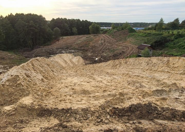 О строительстве дороги-выезда из новых микрорайонов на трассу М-4 «Дон». Август 2019. Фото и видео фото 6