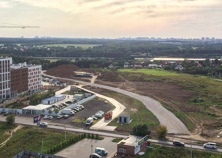О строительстве дороги-выезда из новых микрорайонов на трассу М-4 «Дон». Август 2019. Фото и видео фото 2