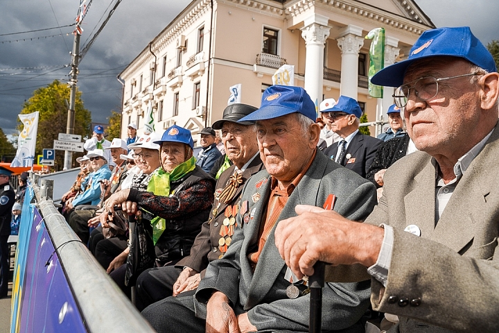 В Видном отметили 90-летие Ленинского района и День города Видное. Фоторепортаж фото 13