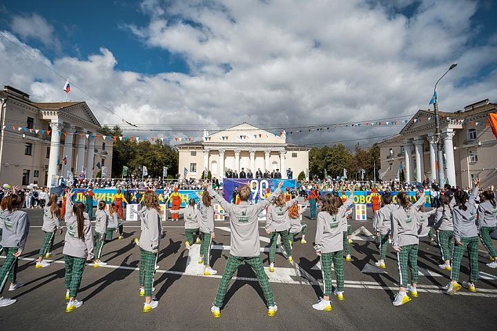 В Видном отметили 90-летие Ленинского района и День города Видное. Фоторепортаж фото 12
