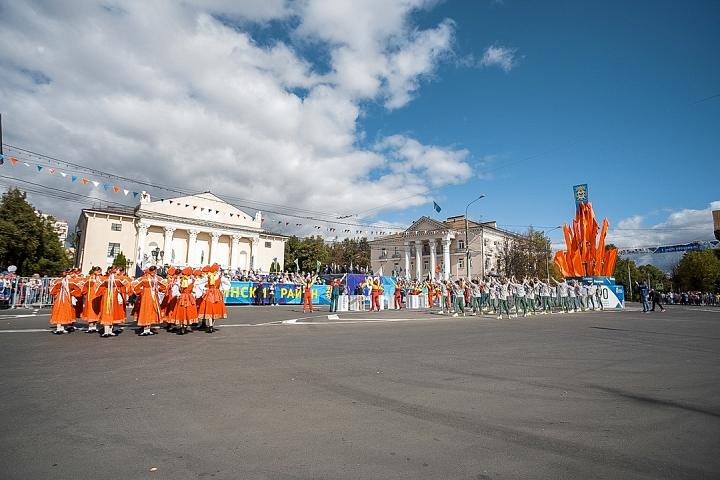 В Видном отметили 90-летие Ленинского района и День города Видное. Фоторепортаж фото 11