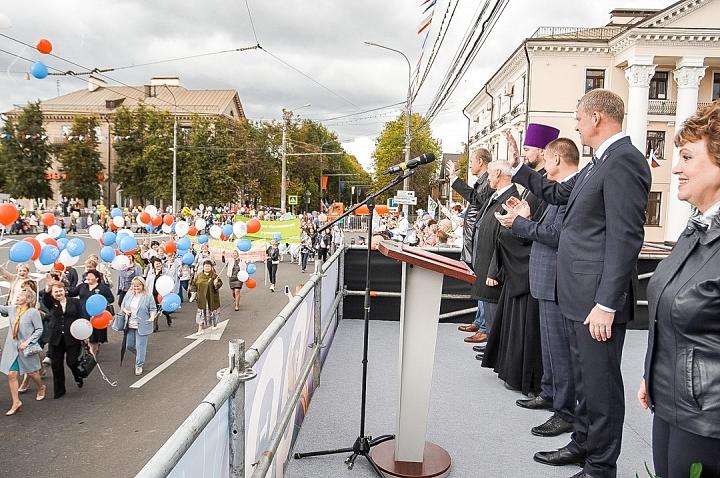 В Видном отметили 90-летие Ленинского района и День города Видное. Фоторепортаж фото 17