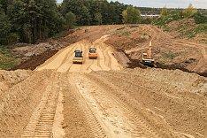 О строительстве дороги-выезда на трассу М-4 «Дон». Сентябрь 2019