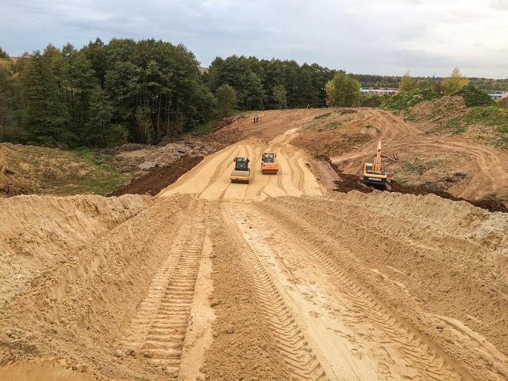 О строительстве дороги-выезда на трассу М-4 «Дон». Сентябрь 2019 фото 11
