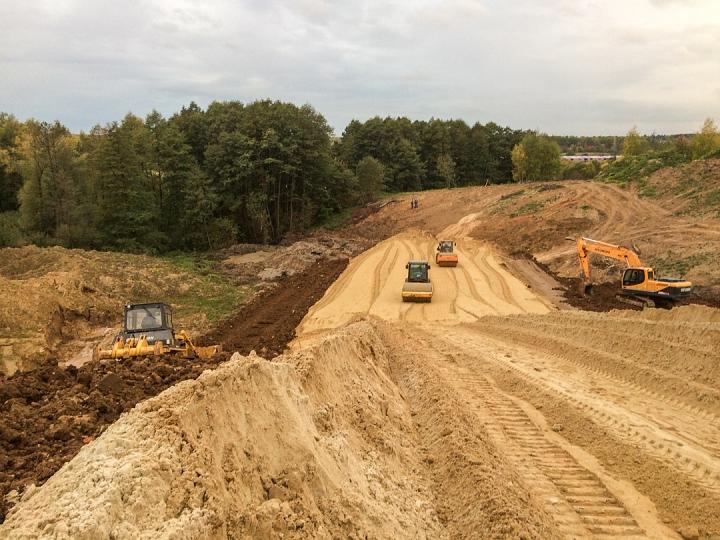 О строительстве дороги-выезда на трассу М-4 «Дон». Сентябрь 2019 фото 9