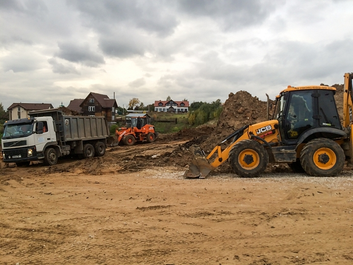 О строительстве дороги-выезда на трассу М-4 «Дон». Сентябрь 2019 фото 8