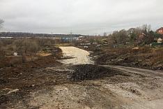 О строительстве дороги-выезда на трассу М-4 «Дон». Ноябрь 2019