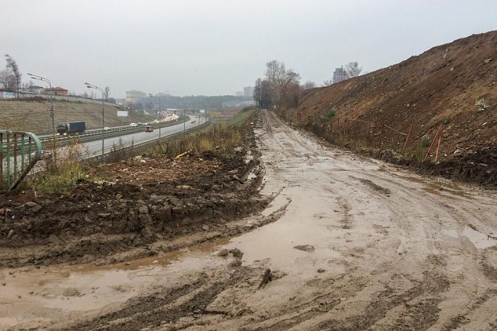 О строительстве дороги-выезда на трассу М-4 «Дон». Ноябрь 2019 фото 28