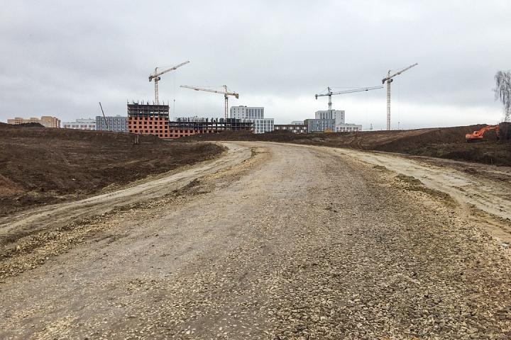 О строительстве дороги-выезда на трассу М-4 «Дон». Ноябрь 2019 фото 16