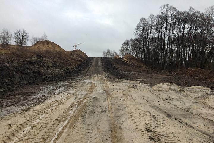 О строительстве дороги-выезда на трассу М-4 «Дон». Ноябрь 2019 фото 22