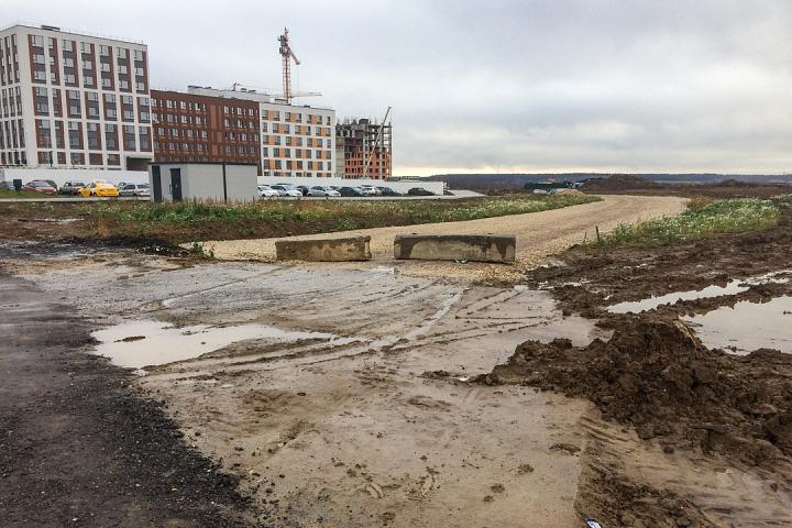 О строительстве дороги-выезда на трассу М-4 «Дон». Ноябрь 2019 фото 6