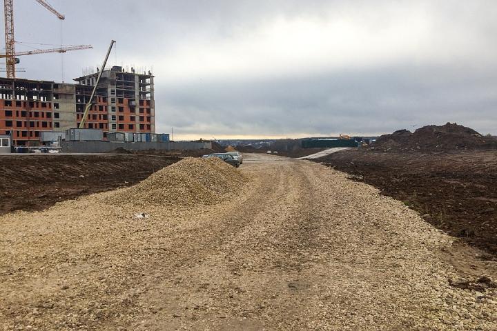 О строительстве дороги-выезда на трассу М-4 «Дон». Ноябрь 2019 фото 7