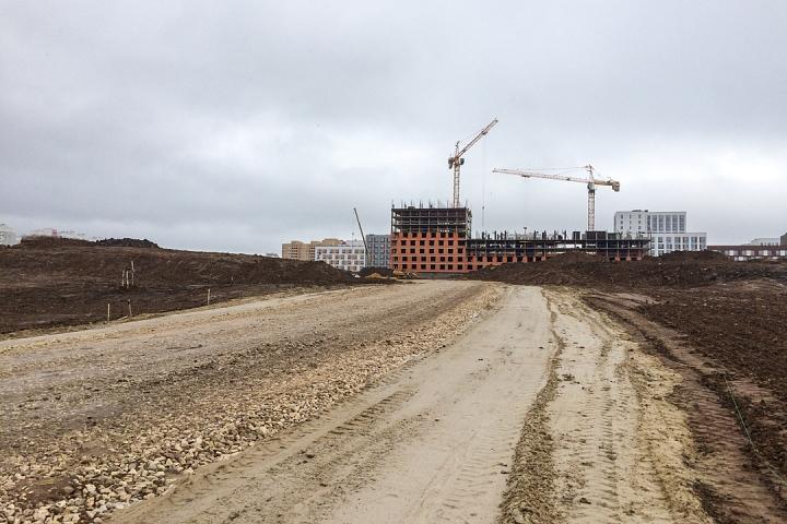 О строительстве дороги-выезда на трассу М-4 «Дон». Ноябрь 2019 фото 15