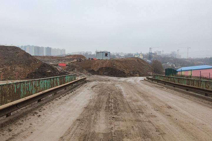 О строительстве дороги-выезда на трассу М-4 «Дон». Ноябрь 2019 фото 3