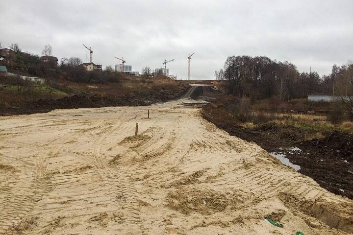 О строительстве дороги-выезда на трассу М-4 «Дон». Ноябрь 2019 фото 2