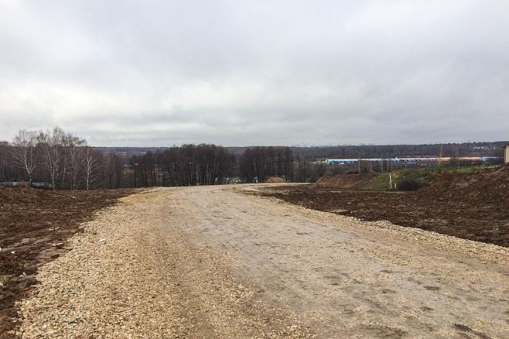 О строительстве дороги-выезда на трассу М-4 «Дон». Ноябрь 2019 фото 11