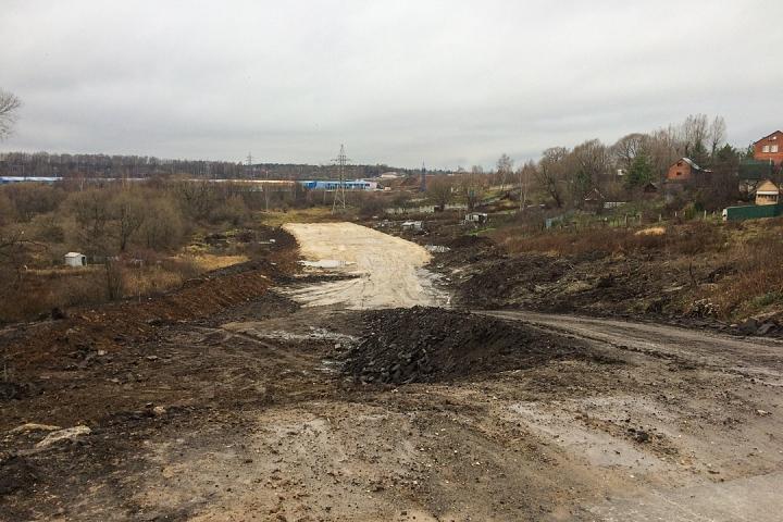 О строительстве дороги-выезда на трассу М-4 «Дон». Ноябрь 2019 фото 18