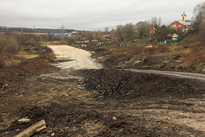 О строительстве дороги-выезда на трассу М-4 «Дон». Ноябрь 2019 фото 20