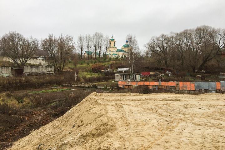 О строительстве дороги-выезда на трассу М-4 «Дон». Ноябрь 2019 фото 4