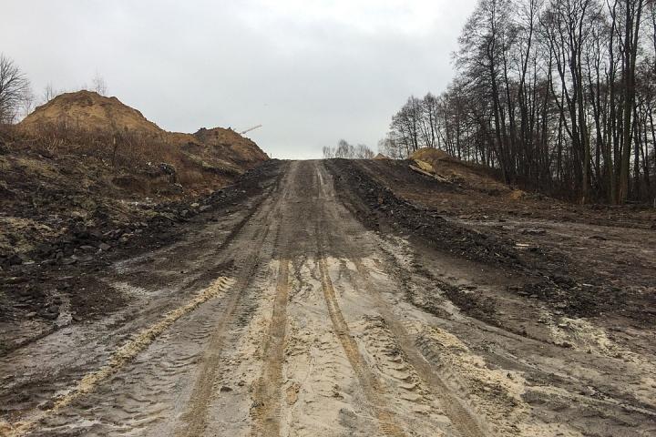 О строительстве дороги-выезда на трассу М-4 «Дон». Ноябрь 2019 фото 21