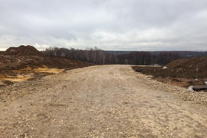 О строительстве дороги-выезда на трассу М-4 «Дон». Ноябрь 2019 фото 9