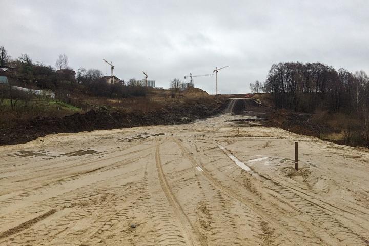 О строительстве дороги-выезда на трассу М-4 «Дон». Ноябрь 2019 фото 24