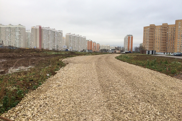 О строительстве дороги-выезда на трассу М-4 «Дон». Ноябрь 2019 фото 8