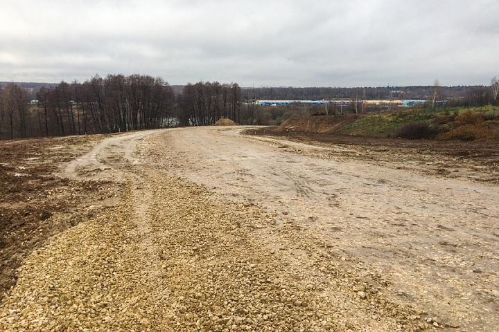 О строительстве дороги-выезда на трассу М-4 «Дон». Ноябрь 2019 фото 12
