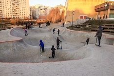 Заканчивается масштабное благоустройство центра города Видное. Фоторепортаж