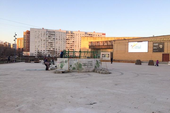Заканчивается масштабное благоустройство центра города Видное. Фоторепортаж фото 15
