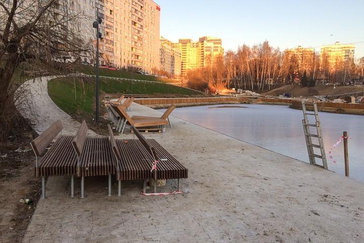 Заканчивается масштабное благоустройство центра города Видное. Фоторепортаж фото 18