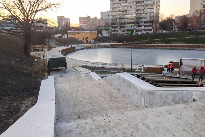 Заканчивается масштабное благоустройство центра города Видное. Фоторепортаж фото 40