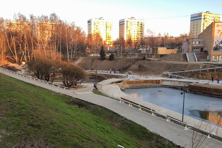 Заканчивается масштабное благоустройство центра города Видное. Фоторепортаж фото 24
