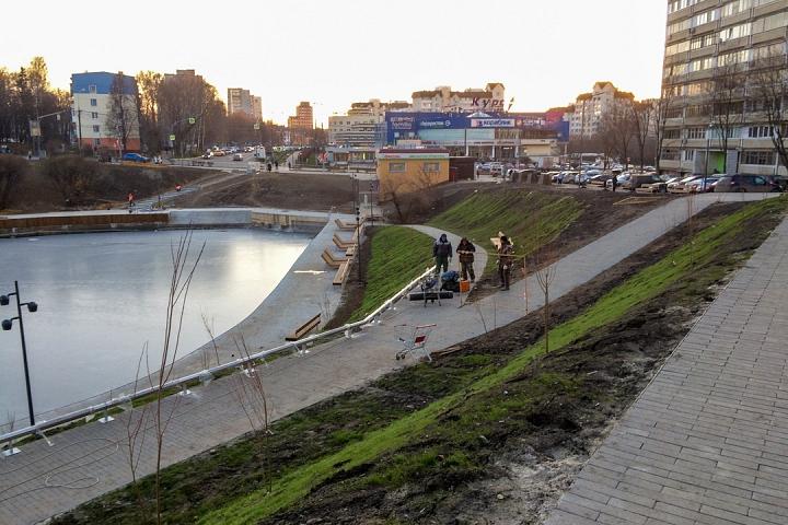 Заканчивается масштабное благоустройство центра города Видное. Фоторепортаж фото 23