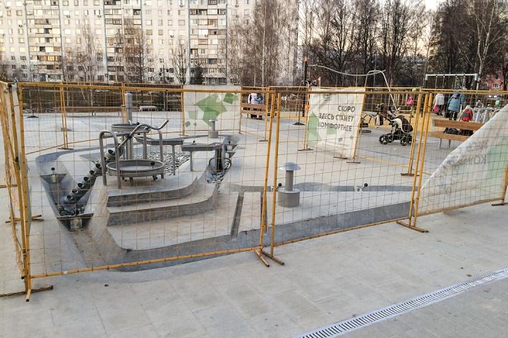 Заканчивается масштабное благоустройство центра города Видное. Фоторепортаж фото 66